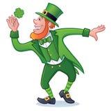 Caractère de jour du ` s de St Patrick Photos libres de droits