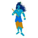 Caractère de Krishna de Dieu Image libre de droits