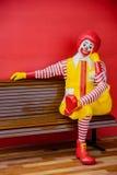 Caractère de McDonald Photos stock
