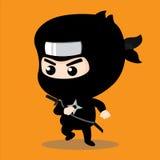 Caractère de Ninja Photo libre de droits
