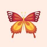 Caractère de papillon de bande dessinée Photos libres de droits