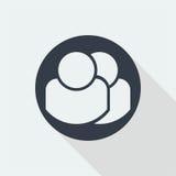 caractère de personnes, conception plate humaine, icône de personnes Photo stock
