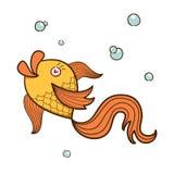 Caractère de poissons. Image stock