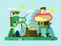 Caractère de Robin Hood Images stock