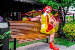 Caractère de Ronald McDonald Images libres de droits