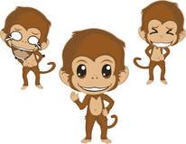 Caractère de singe Photos stock