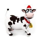 Caractère de vache illustration stock