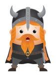 Caractère de Viking de dessin animé Photo libre de droits