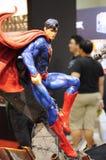 Caractère des nombres d'actions de Superman des films de C.C et comique fictifs image stock