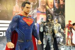 Caractère des nombres d'actions de Superman des films de C.C et comique fictifs photographie stock libre de droits