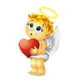 Caractère du jour de Valentine Images libres de droits