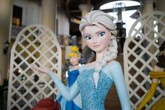 Caractère Elsa de Walt Disney la reine de neige images libres de droits