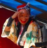 Caractère masqué au festival Images libres de droits