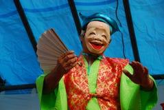 Caractère masqué au festival Images stock