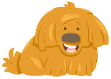 Caractère velu d'animal de chien Photo stock