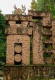 Caractères chinois énormes : Dragon Photos stock