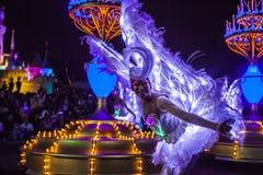 Caractères de fée de Disneyland Photos libres de droits