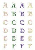 Caractères de vecteur Image stock