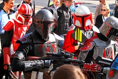 Caractères du Star Wars de film Photo stock