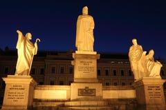 Caractères historiques de Kiev Rus Photos libres de droits