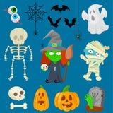 Caractères pour Halloween Images libres de droits