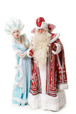 Caractères russes de Noël Photo libre de droits