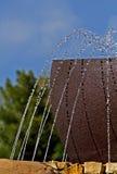 Caractéristique #01 de l'eau Photos libres de droits