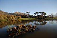 Caractéristique Capetown de l'eau Photo libre de droits