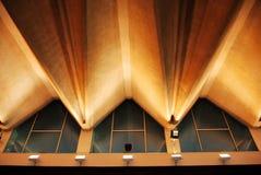 Caractéristique d'architecture dans le style de vague Images libres de droits