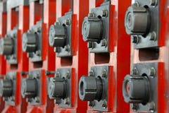 Caractéristique de matériel de fabrication Image stock