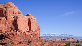 Caractéristiques de roche de l'Utah images libres de droits