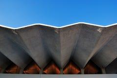 Característica da arquitetura no estilo da onda Foto de Stock Royalty Free