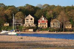 Característica de la línea de costa Imagen de archivo libre de regalías