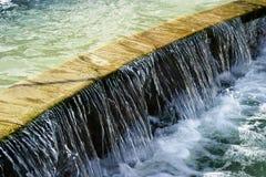 Característica del agua Imagen de archivo libre de regalías