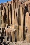 Característica geológica del ` de los tubos de órgano del `, Namibia fotografía de archivo libre de regalías