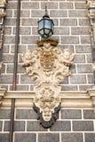 Característica hermosa de la pared en Granada Foto de archivo