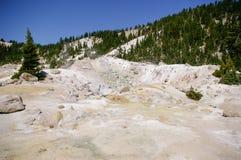 Característica termal en el parque nacional volcánico de Lassen Fotografía de archivo libre de regalías