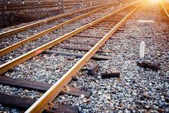 Características da trilha do trem Imagem de Stock