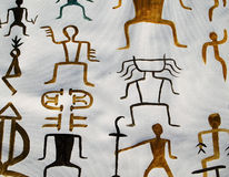 Caracteres chinos antiguos Ilustración del Vector