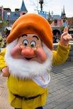 Caracteres de Disneyland París durante una demostración Foto de archivo