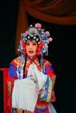 Caracteres de la ópera de Shanxi imagen de archivo libre de regalías