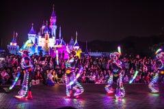 Caracteres de la hada de Disneyland Imagenes de archivo