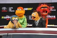 Caracteres de los Muppets Fotos de archivo libres de regalías