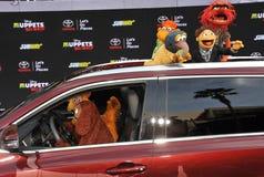 Caracteres de los Muppets Imagen de archivo libre de regalías
