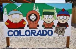 Caracteres de South Park Imágenes de archivo libres de regalías