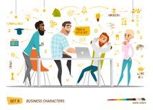 Caracteres del negocio fijados