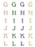 Caracteres del vector Foto de archivo libre de regalías
