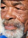 Caracterful Afrikanergesicht Lizenzfreies Stockbild