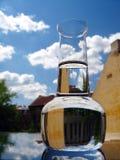 Carafe da agua potável Imagens de Stock