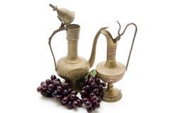 Carafe del vino immagini stock